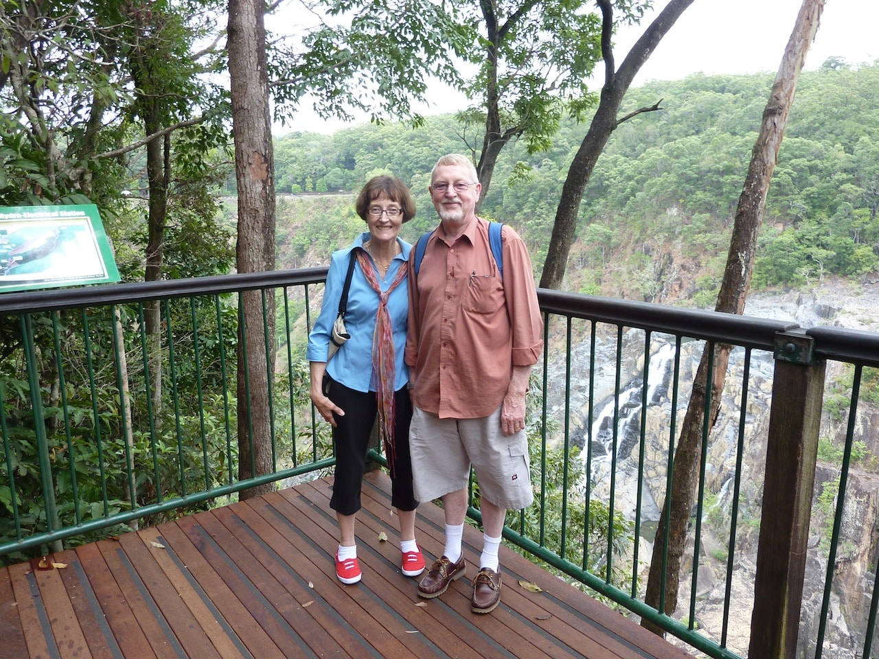 Christine & Paul in Cairns 2012
